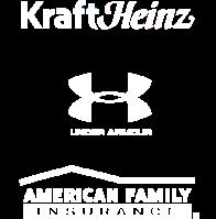 KraftHeinz, UnderArmour, American Family Insurance